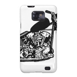 68 Knuckle Head Motorcycle Samsung Galaxy S2 Cover