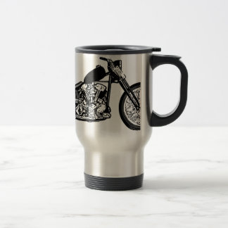 68 Knuckle Head Motorcycle Travel Mug