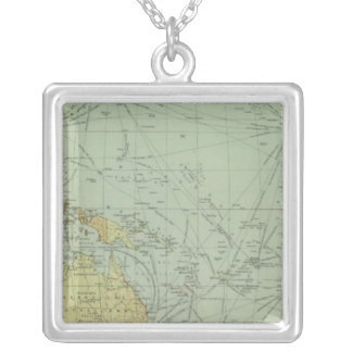 68 lines of communication, Indian Ocean Square Pendant Necklace