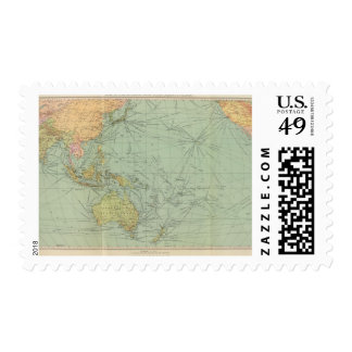 68 lines of communication, Indian Ocean Stamp