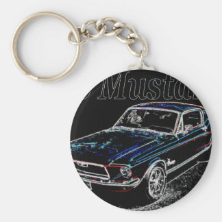68 mustang keychain