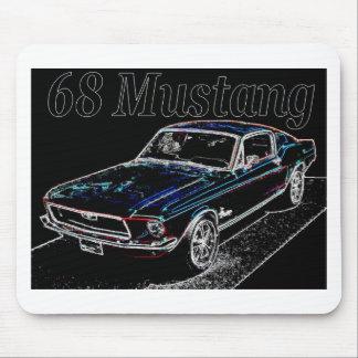 68 mustang mousepads