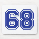 68 - number mouse pads