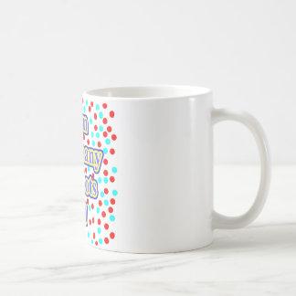 68 Red Dots Old Coffee Mug