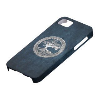 68 Silver Celtic Tree of Life iPhone 5 Covers