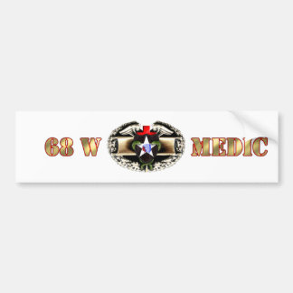68W 2nd Infantry Division Bumper Sticker