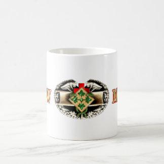 68W 4th Infantry Division Classic White Coffee Mug