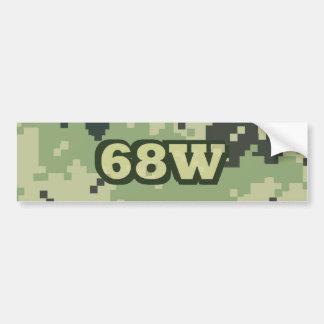 68W BUMPER STICKER