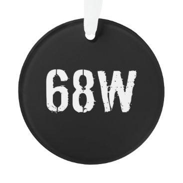 68W ORNAMENT