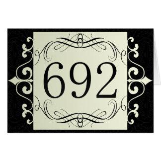 692 Area Code Card