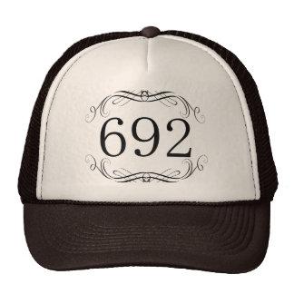 692 Area Code Mesh Hats