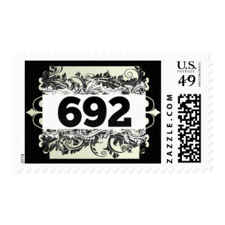 692 POSTAGE STAMPS