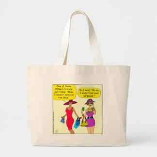 696 99 percenter told me cartoon large tote bag