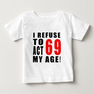 69 birthday design tshirt