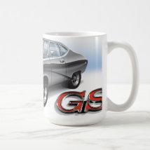 69 Buick GS in Silver Coffee Mug