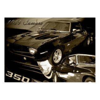69 Camaro Large Business Card