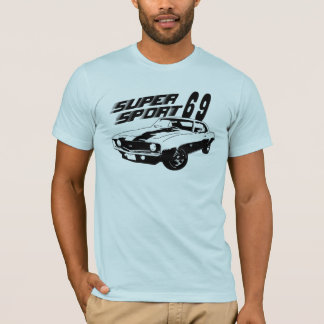 69 Camaro SS Graphic T Shirt