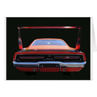 69 CHARGER REAREND CARD
