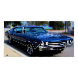 '69 CHEVELLE POSTER