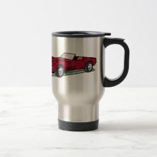 69 Corvette Sting Ray Roadster Travel Mug