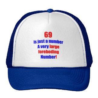 69 es apenas un número gorro de camionero