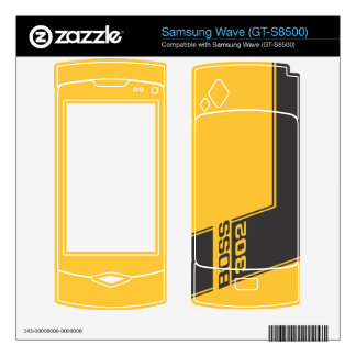 69' Ford Boss Mustang Samsung Wave (GT-S8500) Skin Samsung Wave Decal