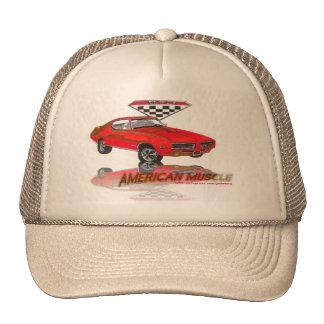 69 GTO Judge Carousel Red Trucker Hat