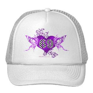 69 mariposas del número de la raza gorras