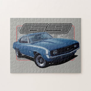 Muscle Car Jigsaw Puzzles Zazzle