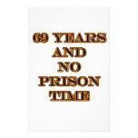 69 ninguna hora de prisión  papeleria