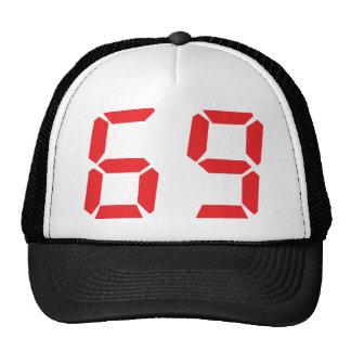 69 sesenta y nueve números digitales del despertad gorro