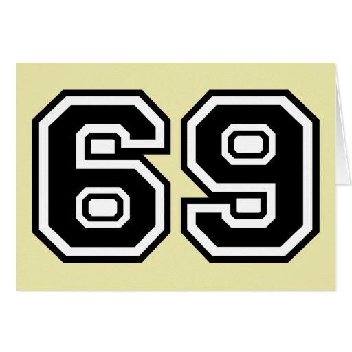 69 Sixty-Nine Sixty Nine Pop Fashion Icon Greeting Cards