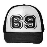 69 Sixty-Nine Sixty Nine Pop Fashion Icon Hats