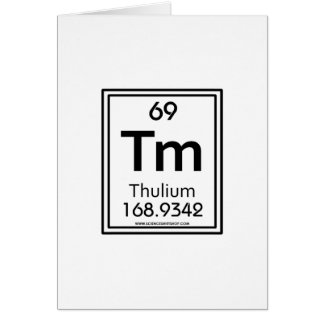 69 Thulium Card
