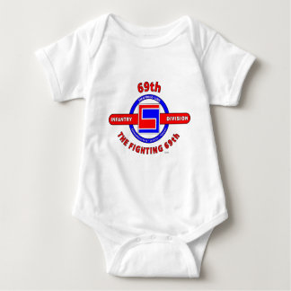 """69TH INFANTRY DIVISION """"THE FIGHTING 69TH"""" BABY BODYSUIT"""
