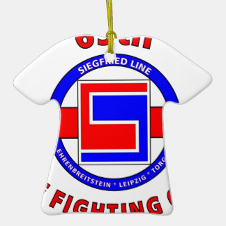 """69TH INFANTRY DIVISION """"THE FIGHTING 69TH"""" CERAMIC ORNAMENT"""