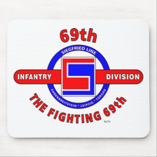 """69TH INFANTRY DIVISION """"THE FIGHTING 69TH"""" MOUSE PAD"""