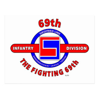 """69TH INFANTRY DIVISION """"THE FIGHTING 69TH"""" POSTCARD"""