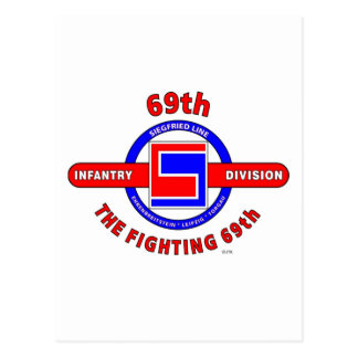 "69TH INFANTRY DIVISION ""THE FIGHTING 69TH"" POSTCARD"
