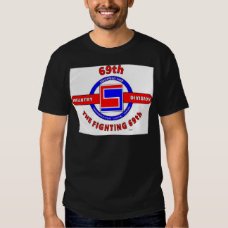 """69TH INFANTRY DIVISION """"THE FIGHTING 69TH"""" SHIRTS"""