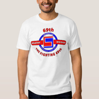 """69TH INFANTRY DIVISION """"THE FIGHTING 69TH"""" T SHIRT"""