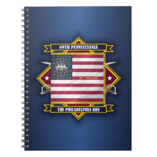 69th Pennsylvania Infantry Spiral Notebooks