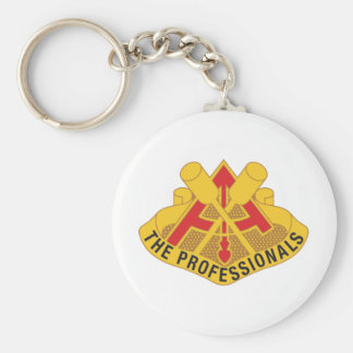 69th USAFAD The Professionals Insignia Keychain