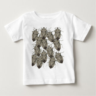 6-07-14 stink bugs rev.png baby T-Shirt