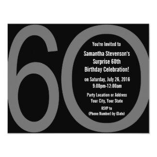 6-0 invitaciones grandes del fiesta comunicado