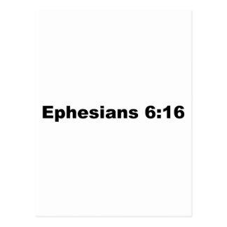 6:16 de Ephesians Postales