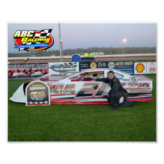 6/30/12 Six Cylinder Feature Winner Photo Print
