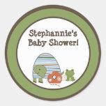 "6 - 3"" Favor Stickers Laguna Beach Turtle Frog"