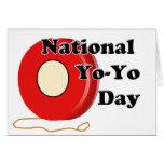 6-6 is National Yo-Yo Day Greeting Cards