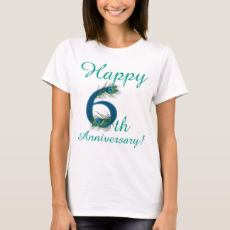 6 / 6th / 6th Anniversary / number 6 T-Shirt